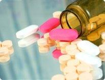 different medicines