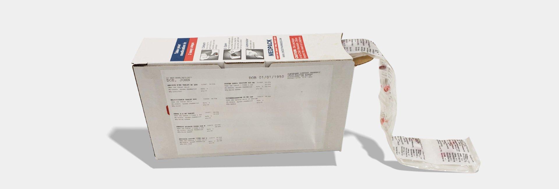 Mepack Box backside