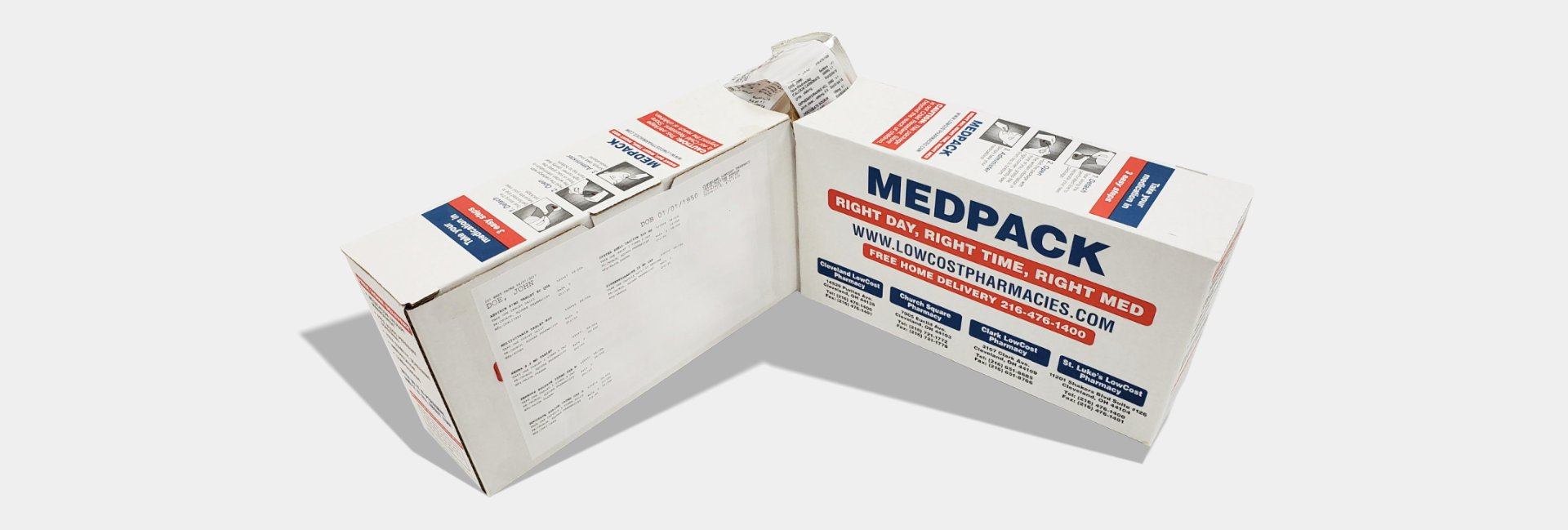 two Mepack Box